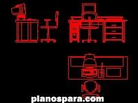 Bloques y detalles archives p gina 13 de 137 planos de for Mobiliario oficina dwg