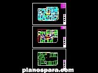 imagen Planos de 17 viviendas, local comercial y garajes