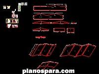 imagen Planos de casa basica de madera