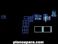 imagen Planos de Casa con locales comerciales