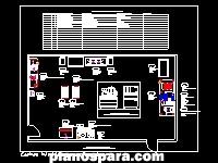 imagen Planos de Cocinas industriales