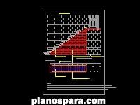 imagen Planos de Corte de Escalera