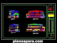 imagen Planos de Elevaciones de casa