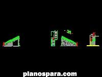 imagen Planos de Escalera de concreto