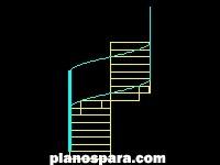 imagen Planos de Escaleras de concreto