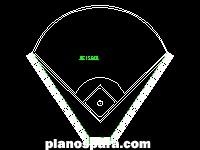 imagen Planos de Estadio de beisbol