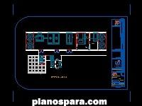 imagen Planos de Hospital General Cuarto de Maquinas