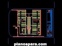imagen Planos de Hospital General Vestidores