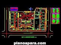 imagen Planos de Planta Arquitectonica de Escuela