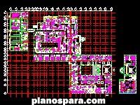 imagen Planos de planta arquitectonica hospital 30 camas