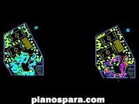 imagen Planos de Plantas arquitectónicas de Escuela Preparatoria