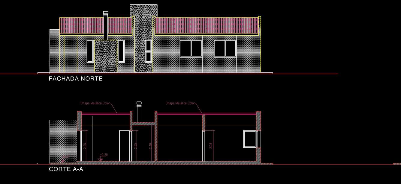 planos de casas modernas dwg gratis