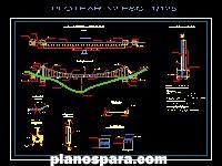 imagen plano de cruce aereo