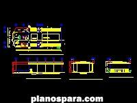 imagen Planos de Alberca de competencia