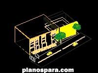 Planos de Auditorio 3d
