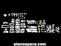 imagen Planos de BLOC mobiliario dwg