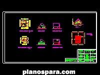 imagen Planos de Cabaña