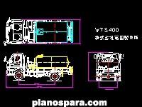Planos de Camion cisterna