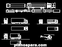 Planos de camiones