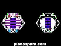 imagen Planos de Cancha de Basquetbol