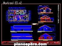 imagen Planos de casa de madera matias navas chile
