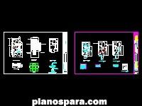 Planos de Casa en planta