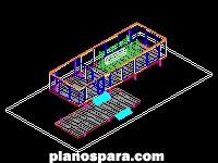 Planos de Casa Farnsworth