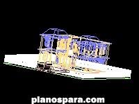 Planos de Casa Habitación 3d
