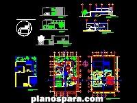 imagen Planos de Casa Habitación Carrazco