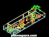 Planos de Casa Omar 3d