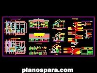 Planos de Casa pareada