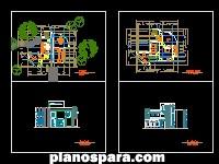Planos de Casa Tardomoderna
