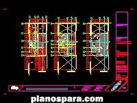 Planos de memoria de calculo estructural casa habitación