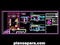 Planos de casino planta municipal