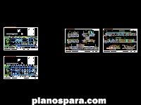 Planos de Clínica de alta especialidad [Pachuca de Soto]