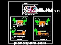 Planos de Consultorio Popular de Barrio Adentro Tipo 2