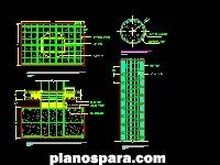 Planos de Detalle Pilote dwg