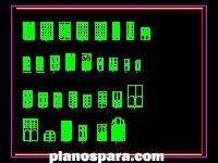 Planos de Detalles de carpinteria