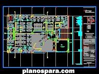 Planos de Edificio administrativo