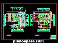 Planos de Edificio habitacional Quillahua