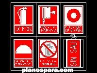 imagen Planos de emergencia contra incendio