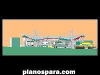 Planos de Estadio de futbol