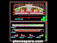 imagen Planos de Estadio municipal de Piura