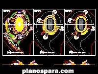 imagen Planos de Estadio olímpico de futbol