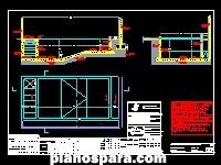 Planos de estructura piscina