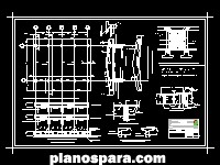 Planos de Estructural 1 de laboratorio