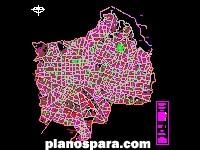 Planos de Guadalajara, Jalisco, México