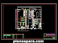 imagen Planos de Lavanderia, Vestidores Y Mantenimiento