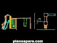 imagen Planos de Modulo de juegos infantiles