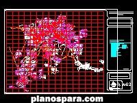 Planos de Plan de Desarrollo Regional de Pachuca